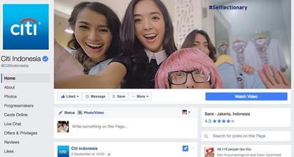 Mengunjungi Facebook Citi Indonesia