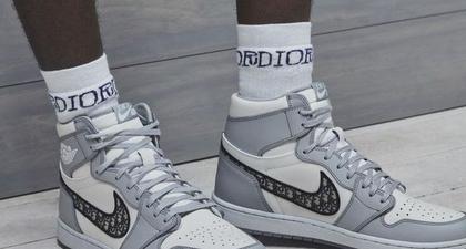 Dior Berkolaborasi dengan Air Jordan untuk Air Dior Sneakers