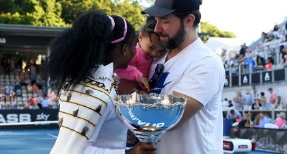 Serena Williams: Putri Saya Akan Bangga dengan Ayahnya