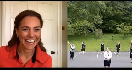 Kate Middleton Kunjungi Pusat Rehabilitasi Secara Virtual