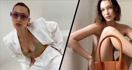 Bella Hadid Bintangi Kampanye Fashion Pertama Lewat FaceTime
