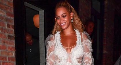 Gaun Beyoncé Saat Memperbaharui Janji Pernikahannya
