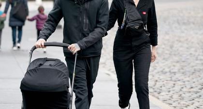 Gigi Hadid dan Zayn Malik Membawa Khai ke American Museum of Natural Historydi NYC
