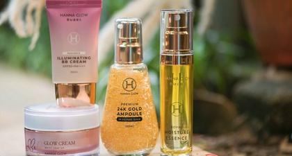 Mengenal Lebih Dekat Hanna Glow, Brand Kecantikan Indonesia yang Mengadopsi Teknologi Korea