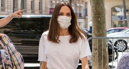 Angelina Jolie Terlihat Pakai Celana Linen yang Sangat Serasi dengan Karakternya