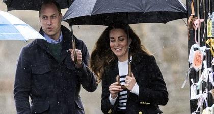 Lihat Pangeran William & Kate Middleton Mengunjungi Kota Tempat Mereka Bertemu Pertama Kali