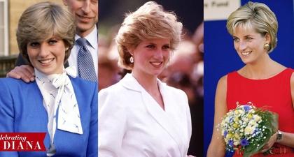 50 Penampilan Rambut Terbaik Putri Diana