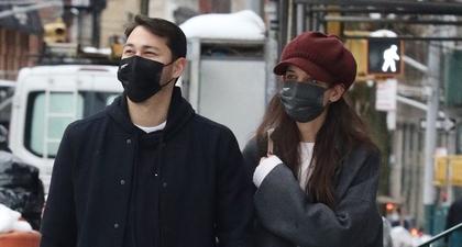 Lihat Pasangan Katie Holmes dan Emilio Vitolo yang Kerap Tampil Senada saat Berjalan-Jalan di Kota New York