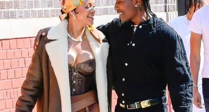 Rihanna dan A$AP Rocky Tampak Mesra & Harmonis Saat Syuting Video Musik Baru di Kota New York