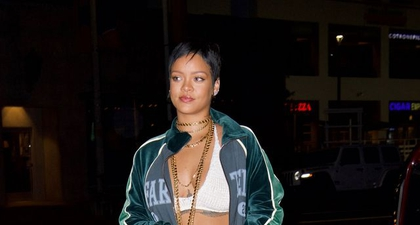 Rihanna Secara Resmi Telah Mengukuhkan Diri sebagai Trendsetter untuk Ansambel Micro Miniskirt