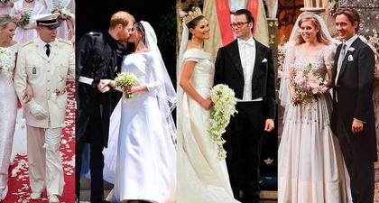 49 Pernikahan Kerajaan Paling Menakjubkan di Seluruh Dunia