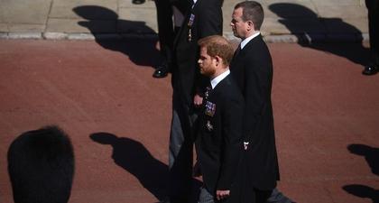 Pangeran Harry Terlihat Tiba di Acara Pemakaman Pangeran Philip