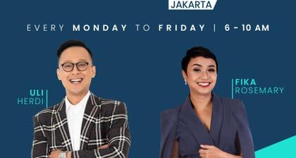 "103.8 Brava Radio ""Good Day Jakarta"""