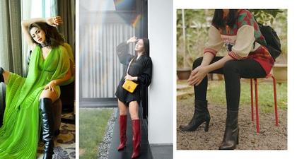 Intip Trik Mengenakan Boots Ala Luna Maya, Jessica Iskandar, Pevita Pearce, dan Isyana Sarasvati