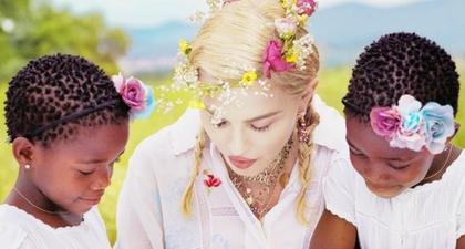Madonna Bagikan Foto Langka Putri Kembarnya di Perayaan Ulang Tahun Mereka yang Ke-9