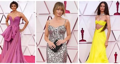 10 Penampilan Terbaik Para Artis Dunia Langsung dari Karpet Merah Ajang Academy Awards ke-93