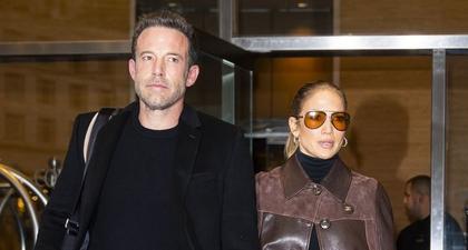 J.Lo Dibalut Nuansa Cokelat dari Kepala hingga Ujung Kaki