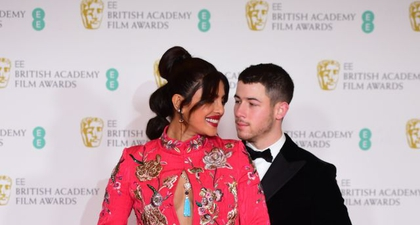 Priyanka Chopra dan Nick Jonas Tunjukkan Momen Mesra di Karpet Merah BAFTA 2021