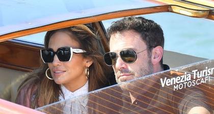 J.Lo dan Ben Affleck Kembali Terlihat dan Bersantai di Venesia