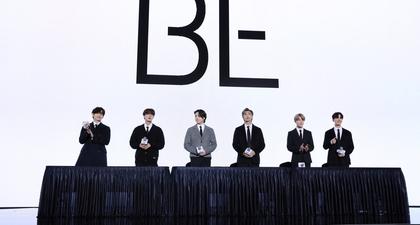 BTS Hadir di Acara Global Press Conference dalam Balutan Rumah Mode Prada