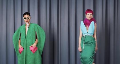 Desainer Berdarah Indonesia, Jacqueline Loekito, Melahirkan Koleksi Bersama Seniman Tobias Gutmann