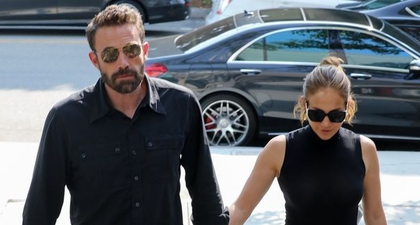 J.Lo dan Ben Affleck Kompak Pakai Busana Hitam Sleek untuk Kencan Berbelanja