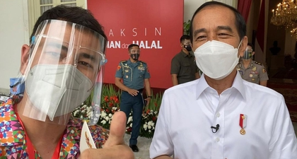 Selain Presiden Jokowi, Raffi Ahmad Juga Menjadi Salah Satu Orang Pertama yang Telah Menerima Vaksin COVID-19