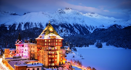 Badrutt's Palace, Hotel Legendaris di St. Moritz untuk Liburan Musim Dingin