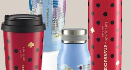 Starbucks Gandeng Label Kate Spade New York untuk Sambut Koleksi Spesial Akhir Tahun