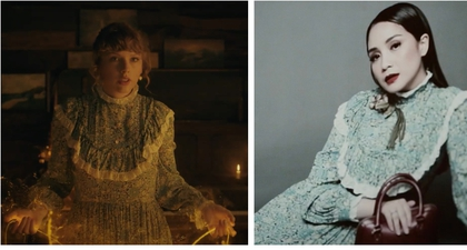Taylor Swift Kenakan Gaun Rilisan Gucci yang juga Sudah Dikenakan Nagita Slavina!