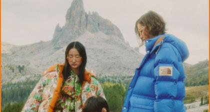 Gucci dan The North Face Lakukan Pendakian di Kolaborasi Terbaru
