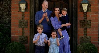 Rupanya Setiap Hari Pangeran William Berdiskusi Mengenai Pandemi Covid-19 dengan Ketiga Anaknya