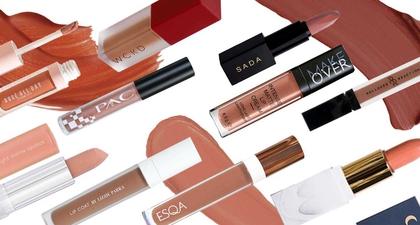 10 Lipstik Lokal dengan Warna Nude Terbaik untuk Pemilik Kulit Sawo Matang