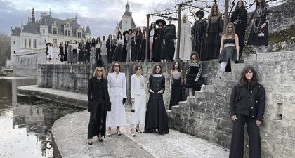 Virginie Viard Persembahkan Koleksi Chanel Métiers D'Art Keduanya di Château de Chenonceau