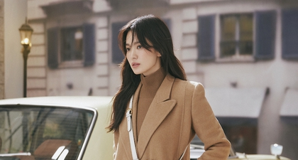 Intip Serunya Song Hye Kyo Menghabiskan Waktu Bersantai di Video Fendi Peekaboo Terbaru