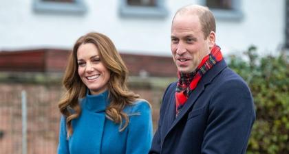 Foto-Foto Tur Kereta Kerajaan Pangeran William dan Kate Middleton yang Meriah