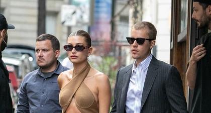 Justin Bieber dan Hailey Bieber Tampil di Publik dengan Serasi Saat di Paris