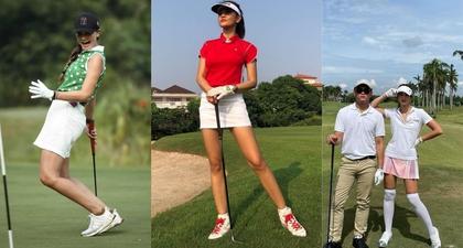Gaya Fashion Saat Main Golf Ala Selebriti Indonesia