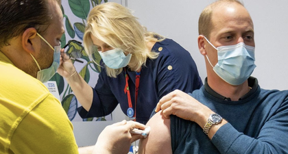 Pangeran William Dikabarkan telah Menerima Dosis Vaksin Covid-19 Pertamanya