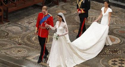 12 Makna Tersembunyi dari Rangkaian Pernikahan Pangeran William dan Kate Middleton 10 Tahun Lalu