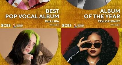 Simak Daftar Lengkap Pemenang Grammy Awards 2021
