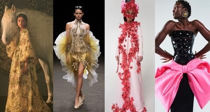 Penampilan Terbaik dari Koleksi Couture Musim Semi 2021