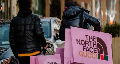 Butik Pop-up The North Face dan Gucci di New York Membuat Pembeli Kembali Keluar Rumah