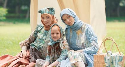 Koleksi Modest Wear Terbaru Ria Miranda untuk Dua Musim Sekaligus, Termasuk Koleksi untuk Anak