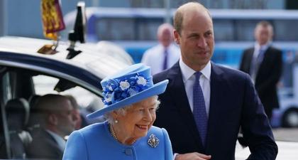 Foto-Foto dari Kunjungan Pangeran William dan Ratu Elizabeth II Saat ke Skotlandia