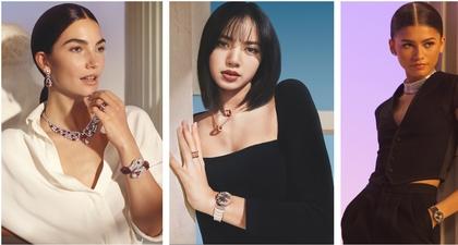 Jadi Satu-Satunya Persona dari Asia, Lisa Blackpink Bergabung Bersama Zendaya, Lily Aldridge, dan Vittoria Ceretti di Kampanye Terbaru Bulgari