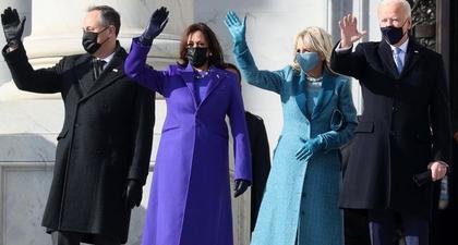 Lihat Foto-Foto Lengkap Acara Pelantikan Presiden dan Wakil Presiden Terpilih Amerika Serikat Joe Biden dan Kamala Harris
