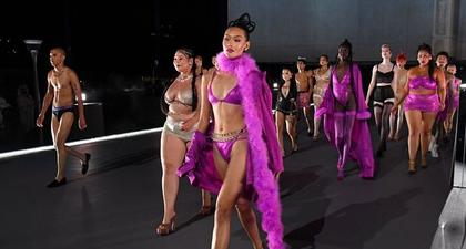 Tampilan Beragam di Fashion Show Brand Pakaian Dalam Milik Rihanna, Savage Fenty Vol. 3