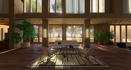 Valentino Membuka Gerbang Rumah Virtualnya, dan Terlihat Sangat Cantik