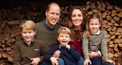 Senyum Pangeran William, Kate Middleton, dan Anak-Anaknya dalam Potret Liburan Terbaru